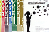 Wallsticker Bubbling Girl