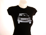 """Trabi"" T-Shirt / Frau - cut off"