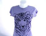 """Tiger"" T-Shirt / Frau"