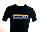 """Skyline"" T-Shirt / Mann"
